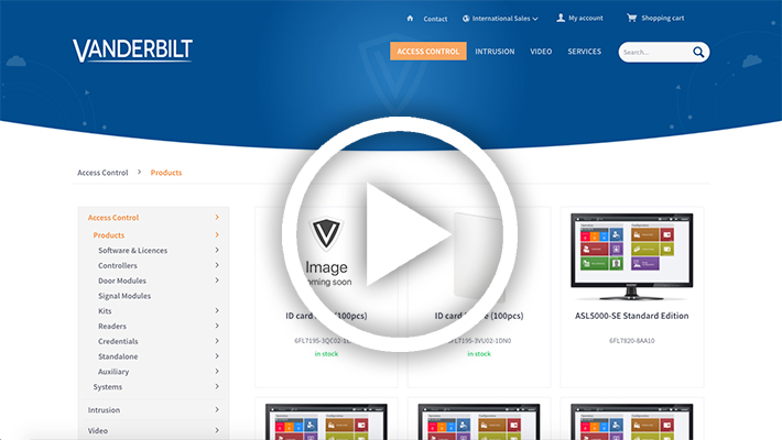 Watch a video on how to use our new WebShop